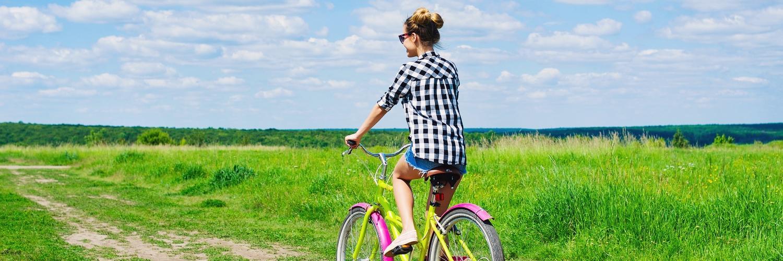 Header fietser